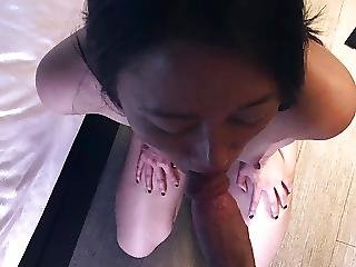 Amateur Asian Slut Blowjob Cum Swallow Anal Fuck
