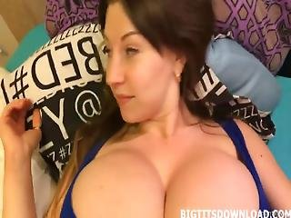 Very Big Tits On A Crazy Blonde Teen