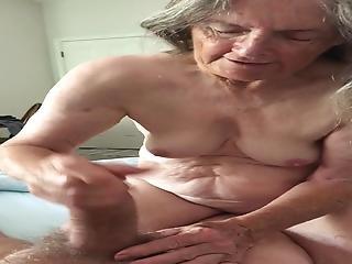 Grandma S Super Handjob