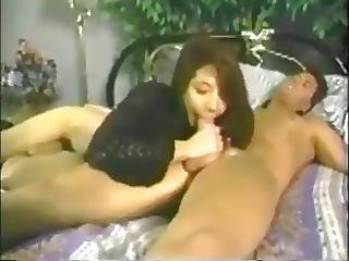 asiatisk, blowjob, hermafroditt, onanering, pornostjerne, vintage