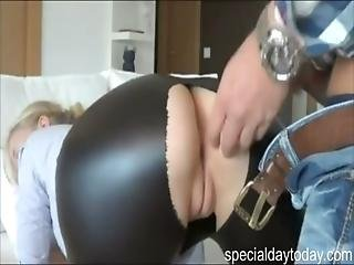 Amateur, Ass, Blonde, Cumshot, German, Latex, Leather, Pov, Shy, Teen, Tight, Yoga