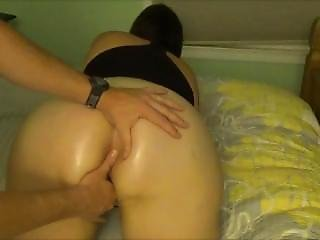 Young Hot Milf Painfully Takes Big Cock In Her Virgin Ass First Time Anal