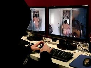 Kunst, Fetish, Naakt, Publiek, Webcam
