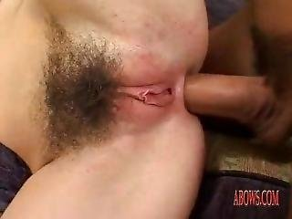Hairy Girl Fucking Two Gays