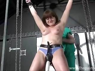 Amateur Slave Whipping And Nose Torture Of Spanked And Humiliated Masochist