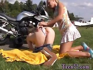 Hot Close Up Sex Girl On Young G/g Biker