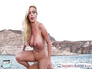 Fucking In Yacht A Mature Rich And Busty