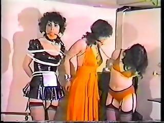 bondage, fetish, lesbisk