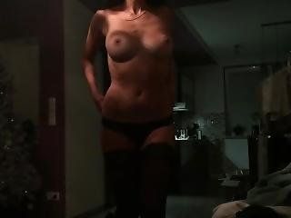 My 19 Years Old Girlfriend Amateur - Great Tits