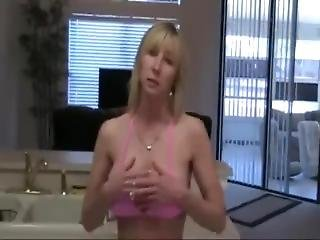 Keri Lynn - Letting Son Try Her Pussy In The Kitchen
