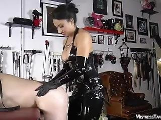 Mistress Tangent Had A Toy Time With Slave