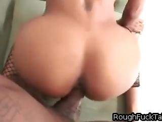 Skinny Little Black Girl Takes Monster Cock Deep In Throat And Pussy