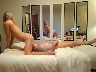 Cheating Husband Makes Her Cum Real Good