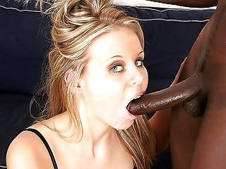 White Hoe Candra In Need Of Some Serious Black Man Meat