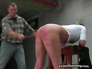 Blindfolded bigtit punished and whipped 8