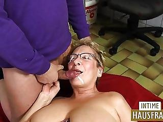 Amateur, Big Boob, Boob, Cumshot, Facial, German, Pussy