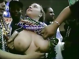Chubby Teens At Mardi Gras