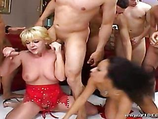 Gangbang Sluts Love To Swap Their Partners To Fuck In Turn