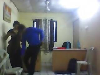 Srilankan Office Couple