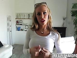 Blonde Babe Nicole Aniston Hammered