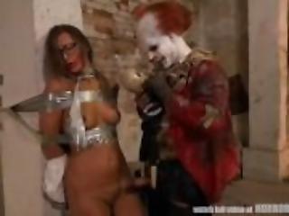 clown, dominazione, fetish, punto di vista, Adolescente