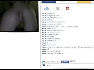 Submissive French Girl On Omegle