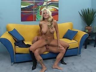 Big Tit, Blonde, Cop, Dick, Fucking, Hugetit, Pornstar