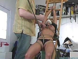 Ladder Bondage Secretary