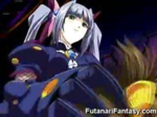 Insane Toon Futanari Scifi!