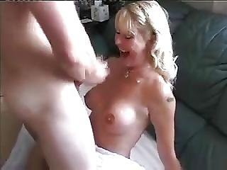 Old Woman Taking Cock From Teen