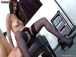 Mistress Athena Spanks And Face Sits Slave
