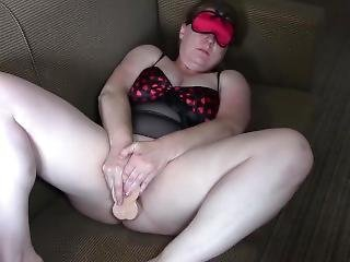 Masturbating With My Fingers And Favourite Dildo Before My Bull Arrives