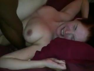 Bbc Breeding Ginger Hotwife While Hubby Records