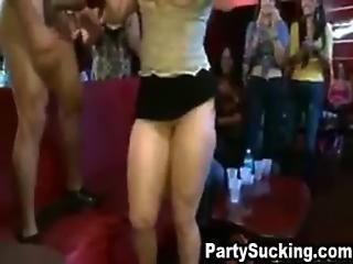 Wild Skanks Blow Fat Cock At Lauren S Wild New Years Shindig