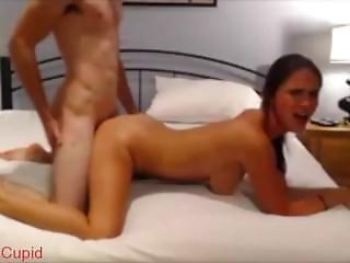 Amateur Threesome With Girlfriend & Bestfriend