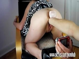 Perverted Teen Fisting And Piss Drinking