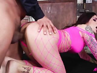 Karmen Karma Ass Fucked And Dpd Roughly With Facials