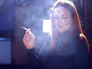 Kara Carter - Kara Smokes All White 0s Menthols While Talking To You Before