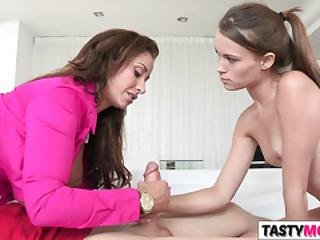 Teaching Is What Sexy Mom Eva Notty Does