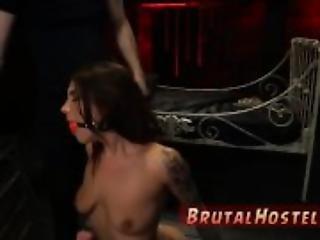 Extreme dildo bdsm hot blonde tape bondage