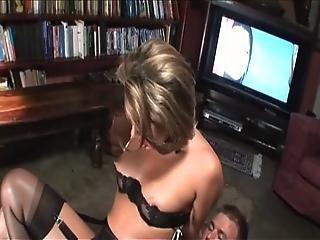 British Slut Renee Richards Gets Fucked After Watching Porn