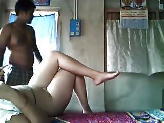Stupid Lucky Bangla Desi Boy Fucking Sweet Neighbor Bhabi