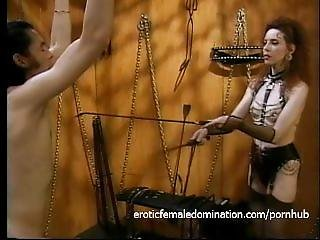 Foxy Redhead Wench Enjoys Whipping Her Extremely Horny Boy Toy