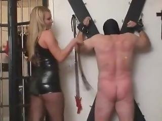 Mistress Harmony Rose Whipping Slave