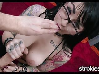γυαλιά, goth, παίξιμο, ρόγες, τρύπα, ρούφηγμα, τατουάζ