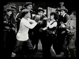 Rowdy Ann (1919) -- Fay Tincher Vintage Mixed Boxing