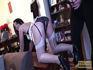 Pascalssubsluts - Spanked Milf Destroyed By Dominant Male