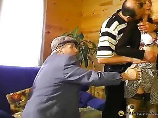 A Man Grabbed Aunt Chest