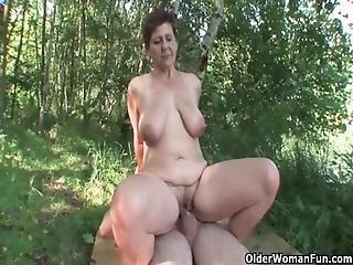 Mom Loves Outdoor Sex