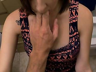 Girl With Big Tits At The Pawnshop